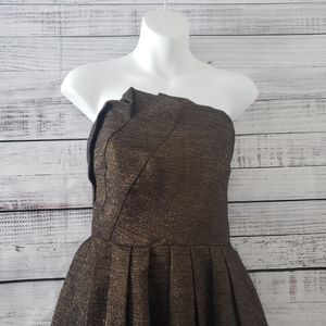 😍NWT😍 Halston Heritage Strapless Dress Size 4